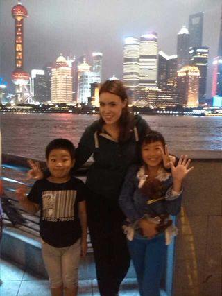 来自德国女孩 Melissa 公益生入住上海互惠家庭